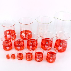 Reliable Supplier Glass Jar For Cream Cosmetic - 5~5000 ml borosilicate laboratory beaker, beaker shot glasses – Yanjia
