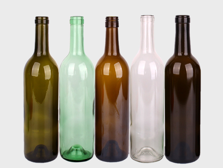 The best container for wine-glass bottles