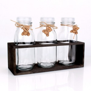 High reputation Glass Jam Jar Clear Candy Jar -