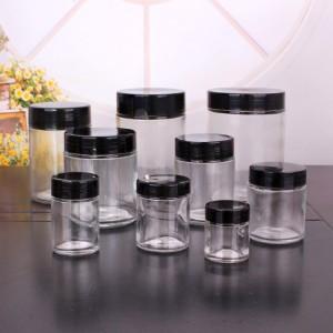 Manufacturer ofCandle Jars With Lid And Boxes - 1oz 3oz 6 oz 12 oz 16oz 26oz wide mouth round Glass Jar with Lids Food Storage Jar – Yanjia