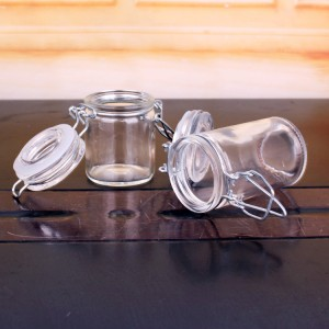 Hot selling glass products and sealed food glass jars