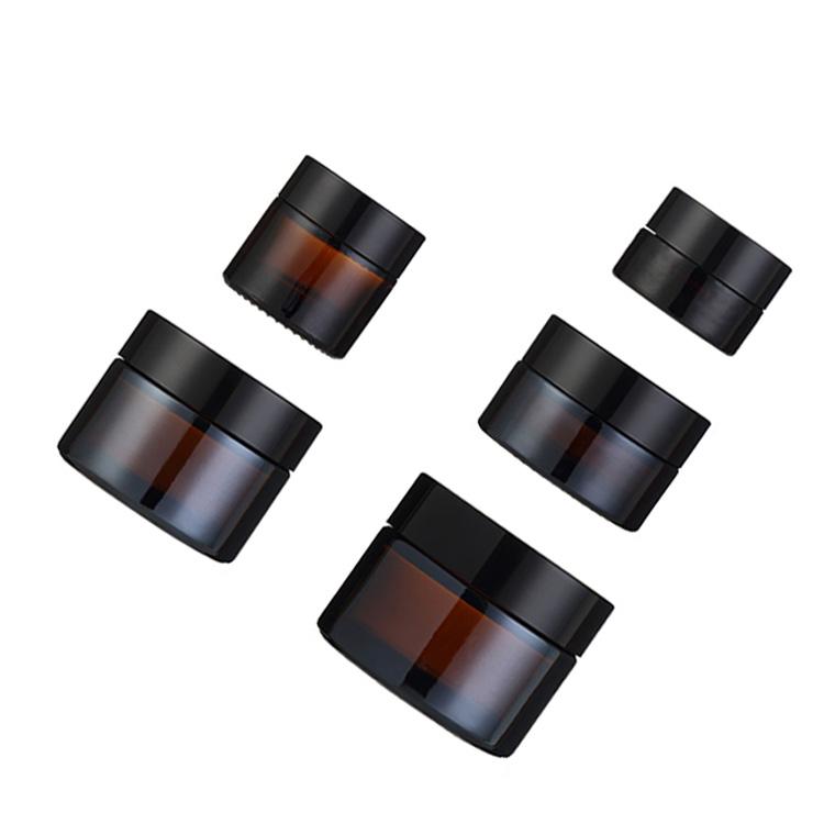 High quality 5g 10g 20g skin care facial glass eye face cream jar