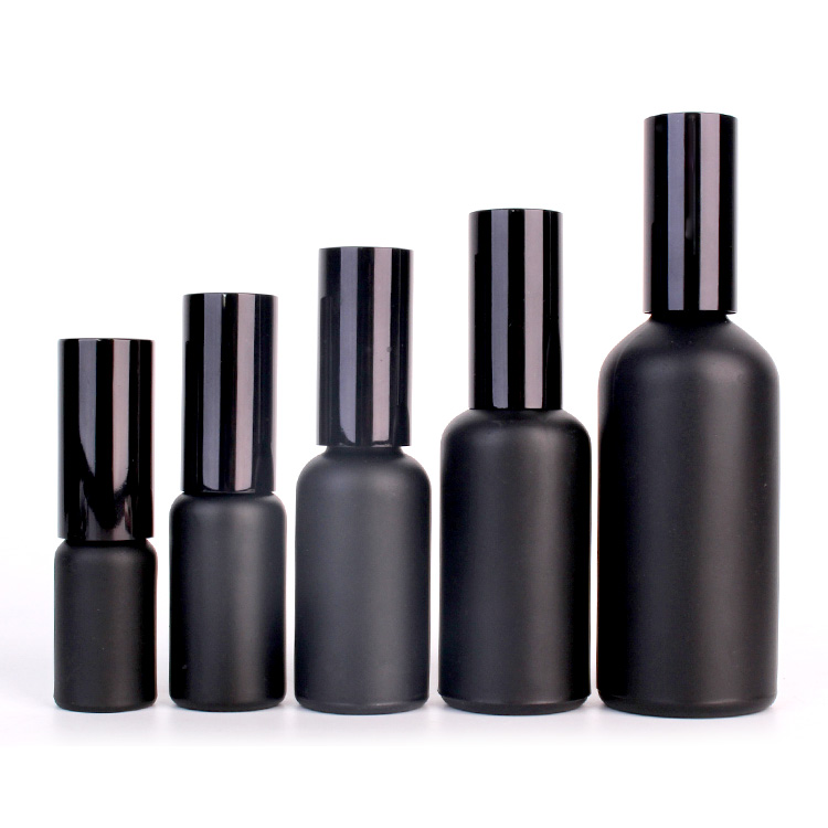 cosmetic essential oil glass bottle