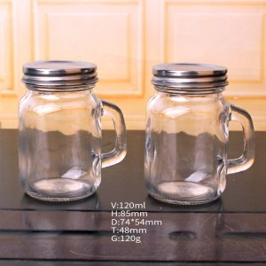 Factory wholesale Glass Candle Jar Lid -