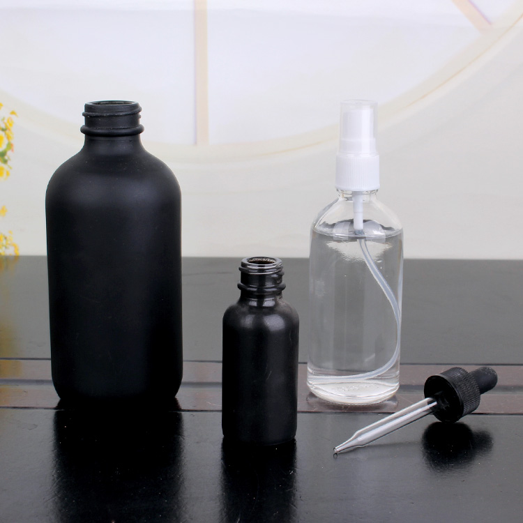 essential oil glass bottle