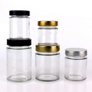 Competitive Price for Candle Glass Jar White With Lid -