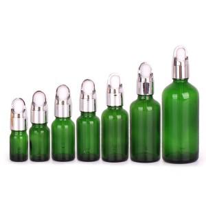 Hot sale Glass Reagent Bottle Price - Glass essential oil bottle dropper glass bottle manufacturer – Yanjia