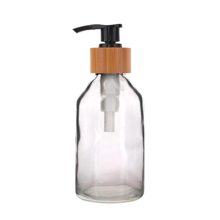 115ml High quality Clear Glass Liquid Soap Dispenser with Pump