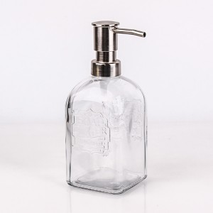 Short Lead Time for Frosted Glass Candle Jar With Lid -