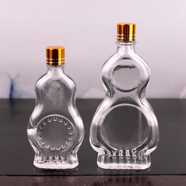 9ml 17ml Safflower Oil Glass Bottle Wind Medicated Oil Bottle With Small Cap