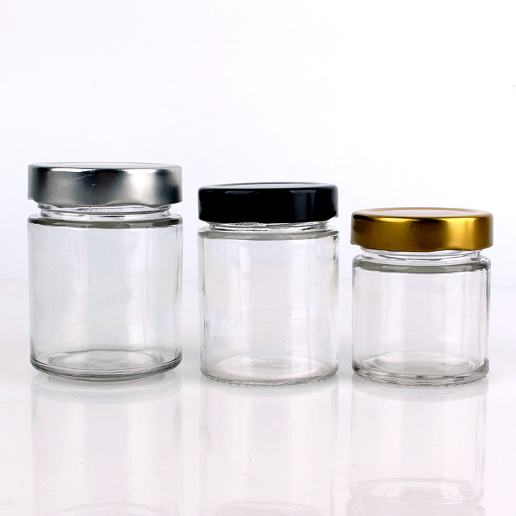 new cylinder 120ml 160ml 220ml 330ml 400ml 580ml glass jar
