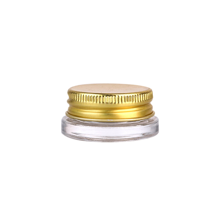 7ml eye cream glass jar for cosmetic with screw aluminum lid Featured Image
