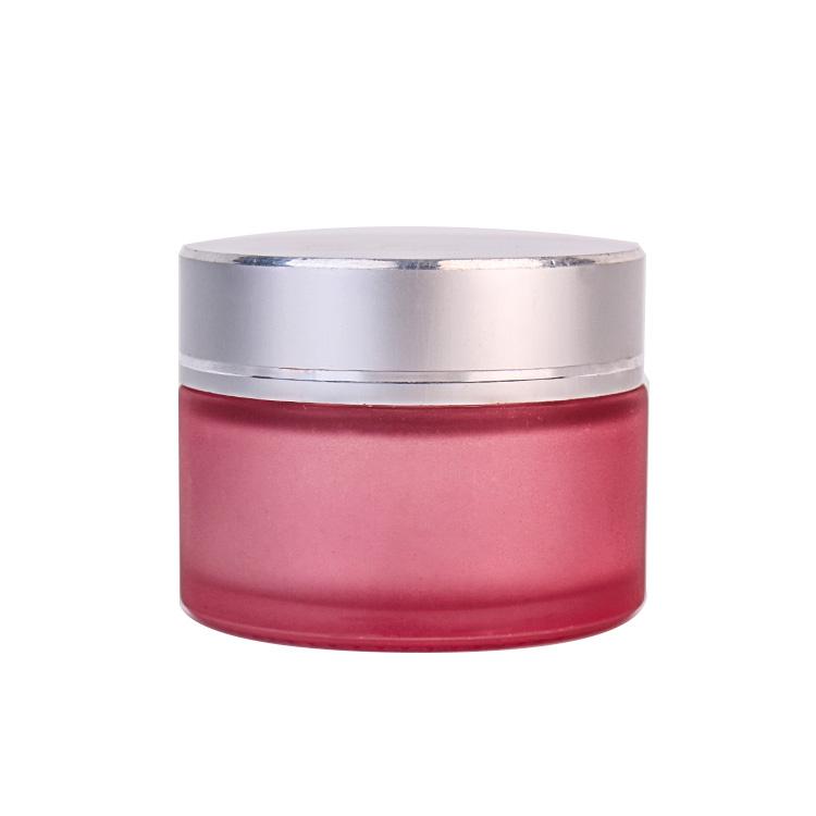 Fancy 40ml  Empty Glass Cream Jar Face Cream Packaging Cosmetic Bottle